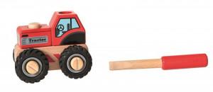 Tractor cu piese de insurubat, Egmont toys