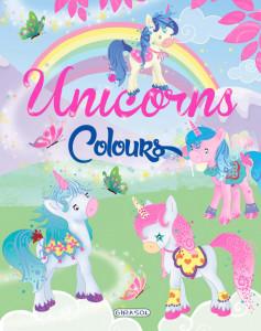 Unicorns colours - verde - Carte povesti pentru copii