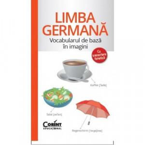Vocabularul de bază în imagini - Limba germană - Carte povesti pentru copii