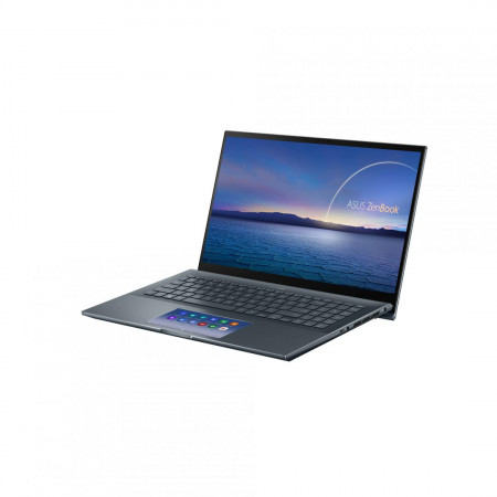 Laptop ASUS ZenBook UX535LI-E2197R, 15.6-inch, Touch screen, 4K UHD (3840 x 2160) 16:9, Glossy display, IPS-level Panel, Intel® Core™ i7- 10870H Processor 2.2 GHz (16M Cache, up to 5.0 GHz, 8 cores), NVIDIA® GeForce® GTX 1650 Ti, 16GB DDR4 on board, 1TB M