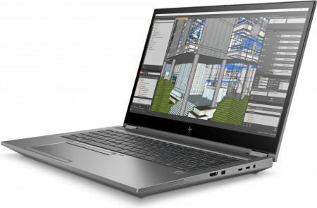 Laptop workstation HP Zbook 15 Fury G7, 15.6 inch LED FHD Anti-Glare Image Recognition Ambient Light Sensor 1000 nits (1920x1080), Intel Core i9-10885H Octa Core (2.4GHz, up to 5.3GHz, 16MB), video dedicat NVIDIA Quadro T2000 4GB GDDR 5, RAM 32GB DDR4 266