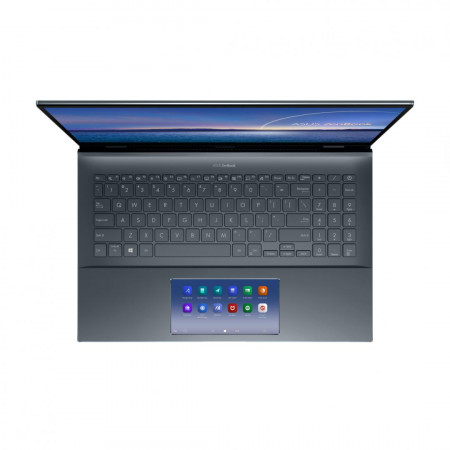 UltraBook ASUS ZenBook 15 UX535LI-H2233R, 15.6-inch, Touch screen, 4K UHD (3840 x 2160) 16:9, OLED, Glossy display, Intel® Core™ i7-10870H Processor 2.2 GHz (16M Cache, up to 5.0 GHz, 8 cores), NVIDIA® GeForce® GTX 1650 Ti, 16GB DDR4 on board, 1TB M.2 NVM