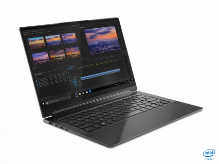 """Laptop Lenovo Yoga 9 14ITL5, 14"""" UHD (3840x2160) IPS 500nits Glossy, Glass, 90% DCI-P3, VESA HDR 400, 10-point Multi-touch, Intel Core i7- 1185G7 (4C / 8T, 3.0 / 4.8GHz, 12MB), video Integrated Intel Iris Xe Graphics, RAM 16GB Soldered LPDDR4x-4266, SSD 1"""