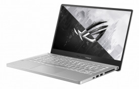Laptop Gaming ASUS ROG Zephyrus G14 GA401QM-K2009, 14-inch, WQHD (2560 x 1440) 16:9, Anti-glare display, IPS-level Panel, AMD Ryzen™ 9 5900HS Processor 3.1 GHz (16M Cache, up to 4.5 GHz), NVIDIA® GeForce RTX™ 3060 Laptop GPU, With ROG Boost up to 1382MHz