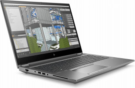 Laptop workstation HP Zbook 15 Fury G7, 15.6 inch LED FHD Anti-Glare Image Recognition Ambient Light Sensor 1000 nits (1920x1080), Intel Core i7-10750H Hexa Core (2.6GHz, up to 5GHz, 12MB), video dedicat NVIDIA Quadro T2000 4GB GDDR 5, RAM 16GB DDR4 2666M