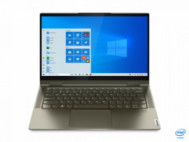 """Laptop Lenovo Yoga 7 14ITL5, 14"""" FHD (1920x1080) IPS 300nits Glossy, 72% NTSC, AGC Dragontrail glass, 10-point Multi-touch, Intel Core i5-1135G7 (4C / 8T, 2.4 / 4.2GHz, 8MB), video Integrated Intel Iris Xe Graphics, RAM 16GB Soldered DDR4-3200, SSD 1TB SS"""