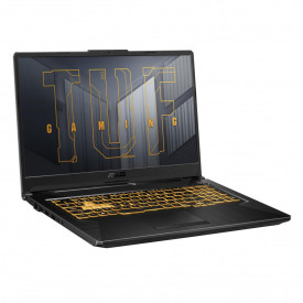 Laptop Gaming ASUS TUF Gaming F17 FX706HE-HX011, 17.3-inch, FHD (1920 x 1080) 16:9, Anti-glare display, Value IPS-level, Intel® Core™ i7-11800H Processor 2.3 GHz (24M Cache, up to 4.6 GHz, 8 Cores), NVIDIA® GeForce RTX™ 3050 Ti Laptop GPU, Up to 1585MHz a