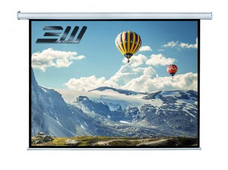 Ecran proiectie electric, perete/tavan, 240 x 180 cm, Blackmount, Format 4:3