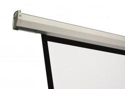 Ecran proiectie electric, perete/tavan, 200 x 200 cm, BlackMount, Format 1:1