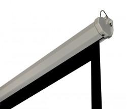 Ecran proiectie manual, perete/tavan, 220 x 123 cm, Blackmount, Format 16:9
