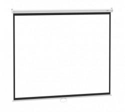 Ecran proiectie manual, perete/tavan, 240 X 180 cm, Blackmount, Format 4:3