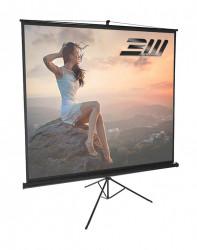 Ecran proiectie trepied, 200 x 200 cm, BlackMount, Format 1:1