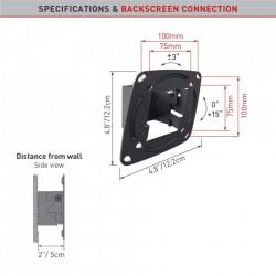 "Suport monitor Barkan E110.B pentru perete (13""-29"")"