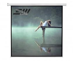 Ecran proiectie electric, perete/tavan, 240 x 240 cm, Blackmount, Format 1:1