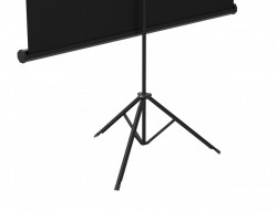 Ecrane proiectie trepied, 150 x 150 cm, Blackmount, Format 1:1