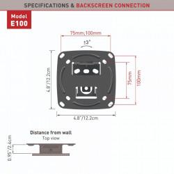 "Suport monitor Barkan E100.B pentru perete (13""-29"")"