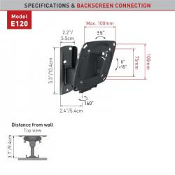 "Suport monitor Barkan E120.B pentru perete (13""-29"")"
