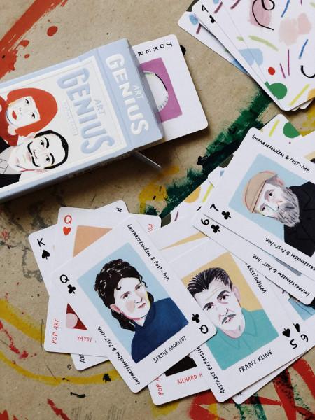 Art Genius Playing Cards