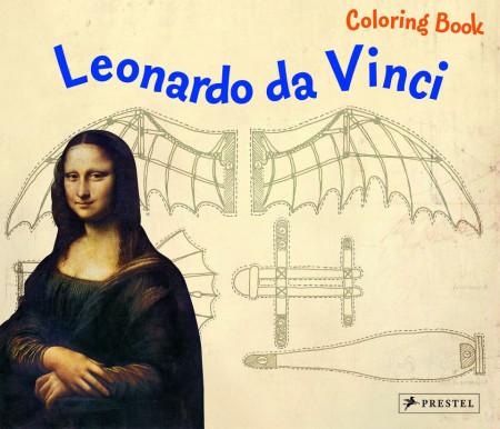 Colouring Book Leonardo da Vinci