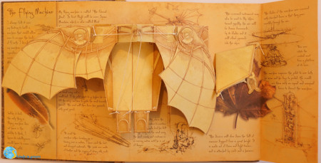 Inventions - Pop-up models from the drawings of Leonardo da Vinci