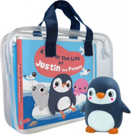 A day in the Life of Justin the Penguin