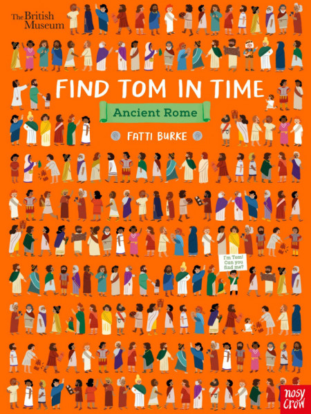 British Museum - Find Tom in Time, Ancient Rome