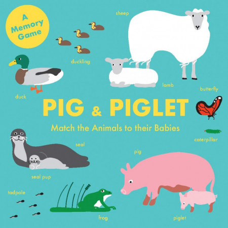 Pig and Piglet - Match the Animals to their Babies