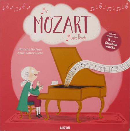 My Amazing Mozart Music Board Book