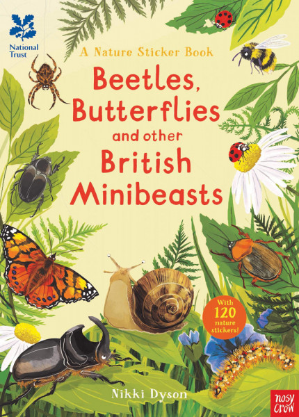 National Trust: Beetles, Butterflies and other Minibeasts (National Trust Sticker Spotter Books)