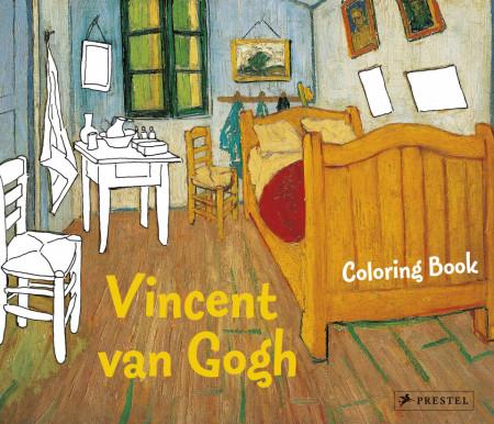 Colouring Book Vincent van Gogh