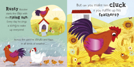 Cow Says Moo - A noisy touch-and-feel farm book