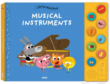 Musical Instruments (My First Music Book)