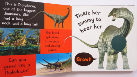 My First Touch And Feel Sound Book: Noisy Dinosaurs