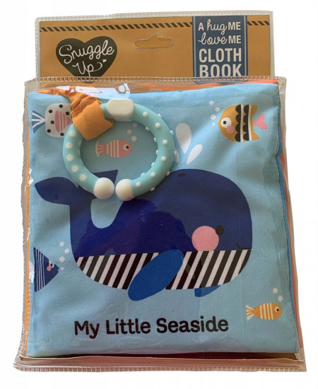 My Little Seaside - A hug ME, love ME cloth book