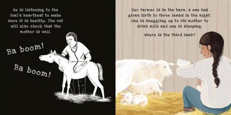 On the Farm: A shine-a-light book