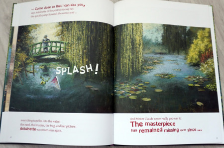 Where is the Frog? - A Children's Book inspired by Claude Monet