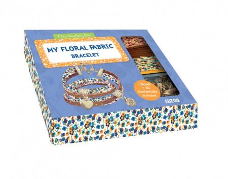 My Floral Fabric Bracelet (My Jewellery Box)