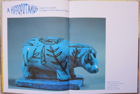 The Little Hippo - A Children's Book Inspired By Egyptian Art
