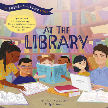 At the Library: A shine-a-light book