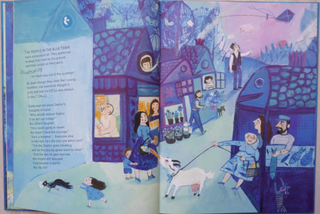 Journey on a Cloud - A Children's Book Inspired by Marc Chagall