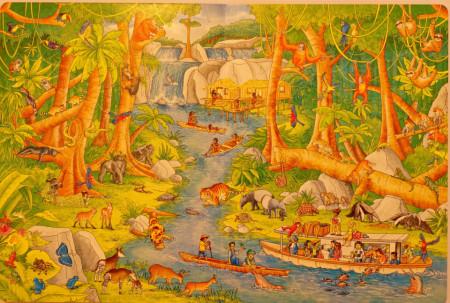 My Big Wimmelbook. Animals Around the World