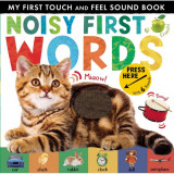 My First Touch And Feel Sound Book: Noisy First Words