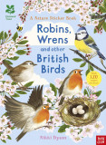 National Trust: Robins, Wrens and other British Birds (National Trust Sticker Spotter Books)