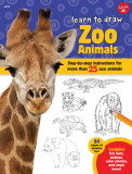 Learn to Draw Zoo Animals: Step-by-step instructions for more than 25 zoo animals