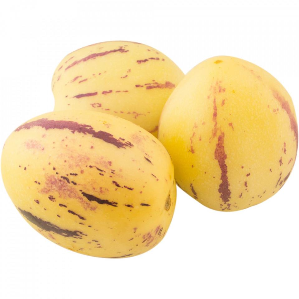 Pepino (4 seminte) fructe galbene cu dungi violet bogat in fibre si vitamina C, Agrosem