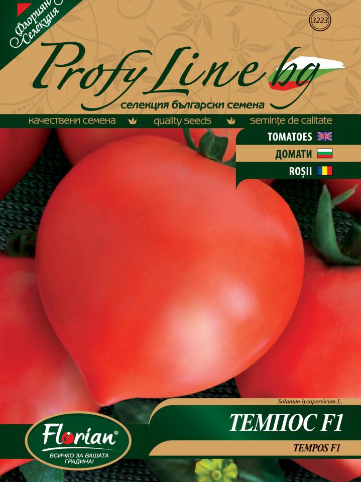 Tempos F1 (500 seminte) rosii extratimpurii cu mot, Florian Bulgaria