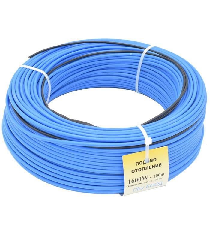 Cablu incalzire rasadnite (100 metri), putere 1600 W, calitate superioara, SBU