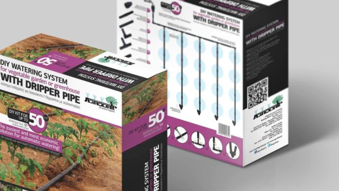 KIT IRIGARE PRIN PICURARE de calitate superioara, Agrodrip & Eurodrip Irigatii