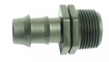 "Conector ""V"" FE 25x3/4"" irigatii din plastic de calitate superioara, Palaplast"