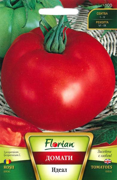 Ideal - 50 gr - Seminte de Tomate Soi Nedeterminat Semitimpuriu pentru camp de la Florian Bulgaria